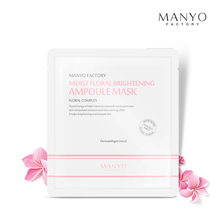 MANYO FACTORY MOIST FLORAL BRIGHTENING AMPOULE MASK 25ML