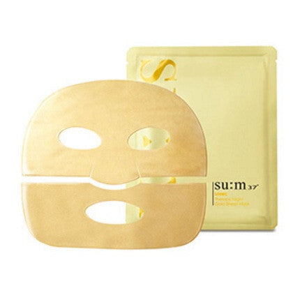 SU:M37 LOSEC THERAPY NIGHT GOLD SHEET MASK 7SHEETS X27GR - impaviid
