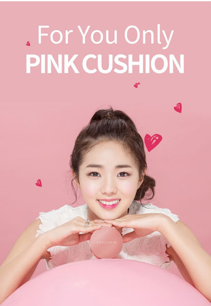 APRIL SKIN MAGIC SNOW CUSHION PINK - IMPAVID GIRL
