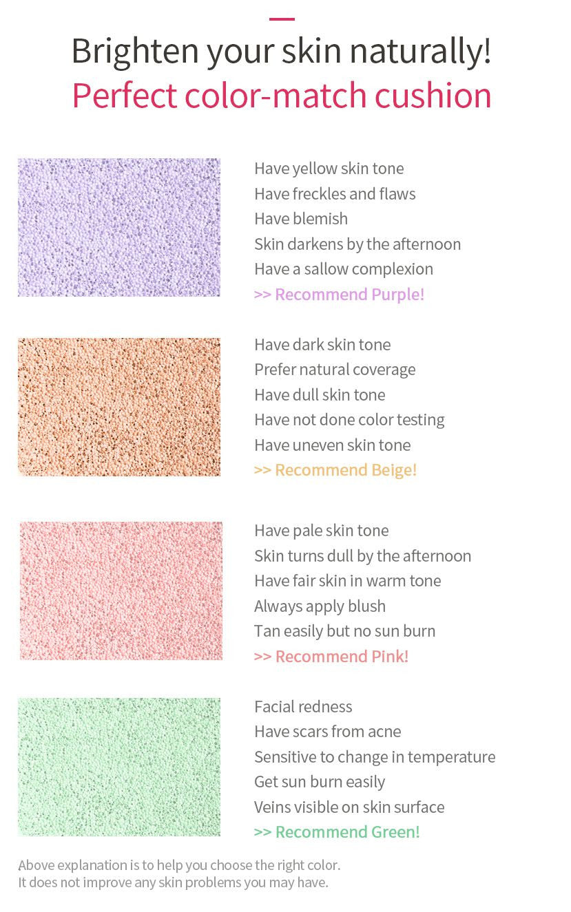 APRIL SKIN MAGIC SNOW CUSHION PINK - IMPAVIID