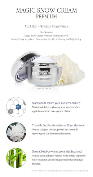 APRIL SKIN MAGIC SNOW PREMIUM CREMA - IMPAVIID