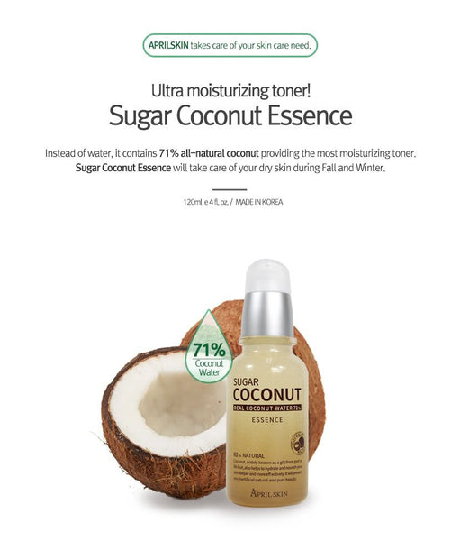 APRIL SKIN SUGAR COCONUT ESSENCE - IMPAVID GIRL