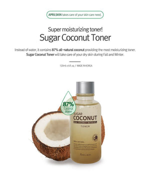 APRIL SKIN SUGAR COCONUT TONER - IMPAVIID