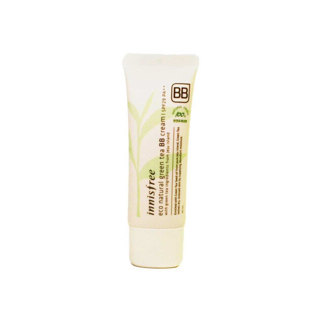 INNISFREE ECO NATURAL GREEN TEA BB CREAM - impraid