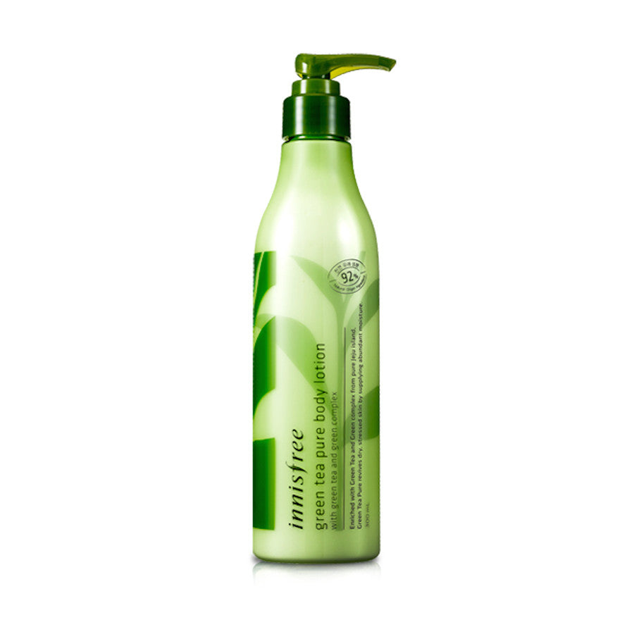 INNISFREE GREEN TEA PURE BODY LOTION - neuzkrītošs