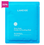 LANEIGE WATER BANK DOUBLE GEL SOOTHING MASK 5PCS - impaviid