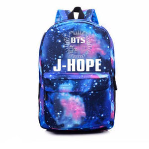 GALAXY BANGTAN BOYS / BTS BACKPACK LIMITED ITEM - impaviid
