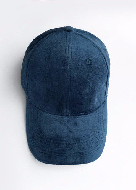 VELVET BASEBALL CAP 9 COLORS - impraid