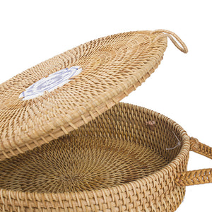 MINI BAG CIRCLE STRAW HANDMADE HANDBAG SUMMER - impaviid