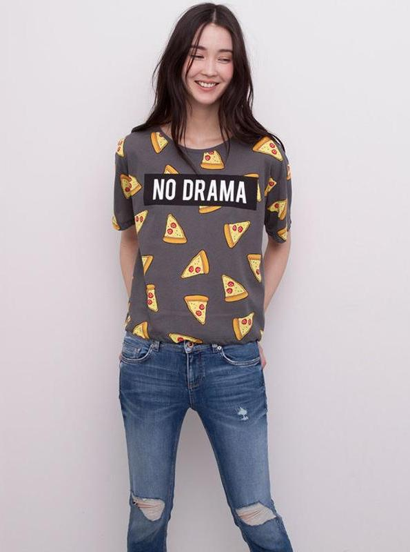 NO DRAMA PIZZA TOP SUURUS: S-XL - impaviid