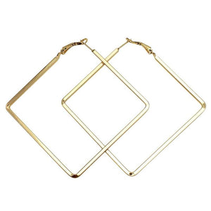BOUCLES D'OREILLES SQUARE BIG DROP - impaviid