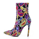 POINTED TOE BOOTS EMBROIDERED CRUELTY-FREE 3 COLORS - impaviid