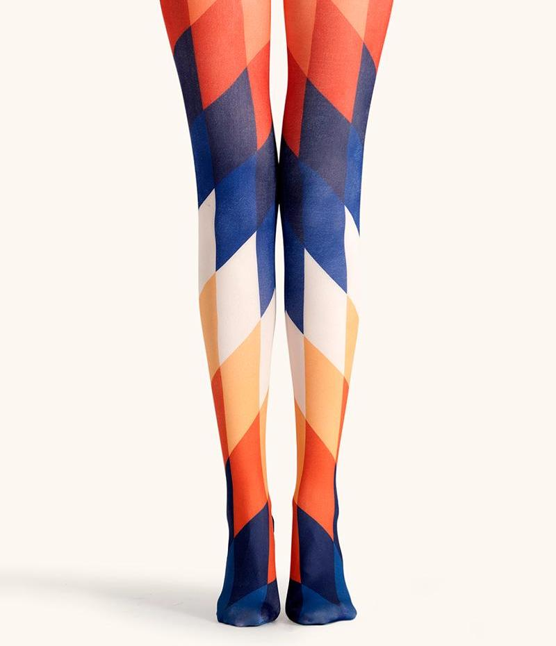 GEOMETRIC TIGHTS - impaviid