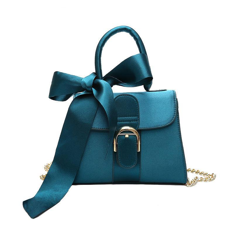 VELVET Satin HAND BAG WITH A SCARF CRUELTY-FREE - imprisid