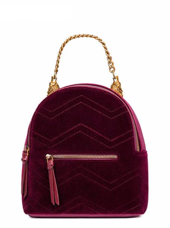 VELVET BACKPACK 3 COLORS AUTUMN 2017 - impraid