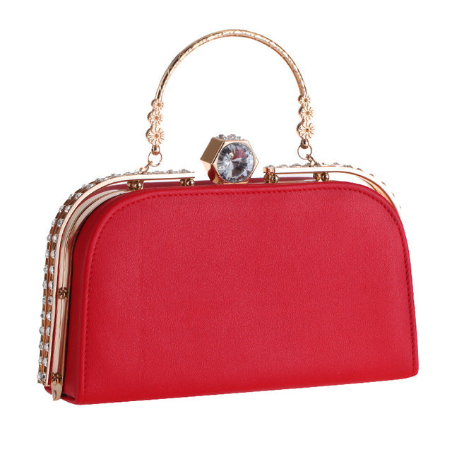 SMALL EVENING BAG METALLIC MULTIPLE COLORS - impaviid