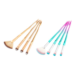 4 PCS GRADIENT COLOR MAKEUP BRUSHES 2 COLORS CRUELTY-FREE - IMPAVIID