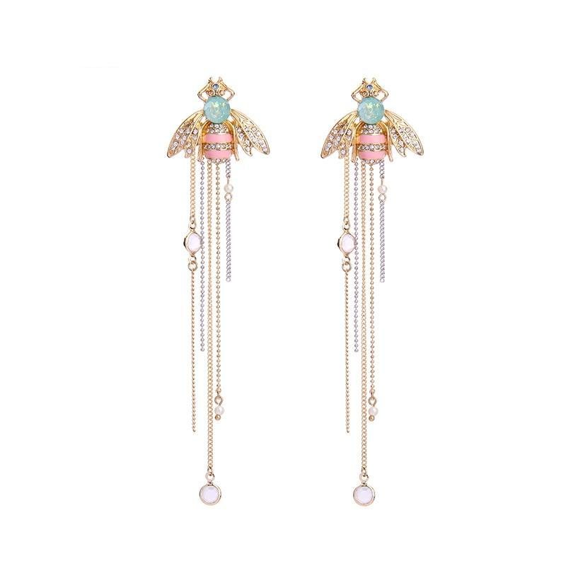 BOUCLES D'OREILLE DANGLE BEE COLORFUL - IMPAVIID