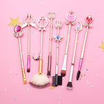 [LIMITED ITEM] SAILOR MOON MAKEUP BRUSHES SET 8 PCS