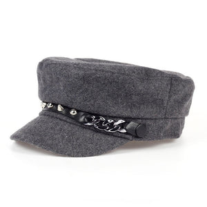 BAKER BOY / NEWS BOY HAT 3 COLORS - ИМПАВИИД