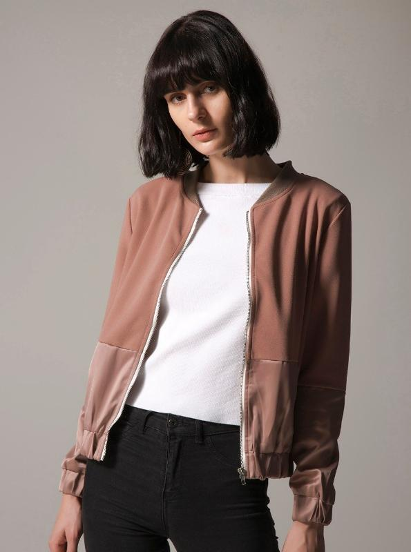 SLIM BOMBER JACKET 2 COLORS SIZES: S - XXXL SPRING 2018 - impaviid