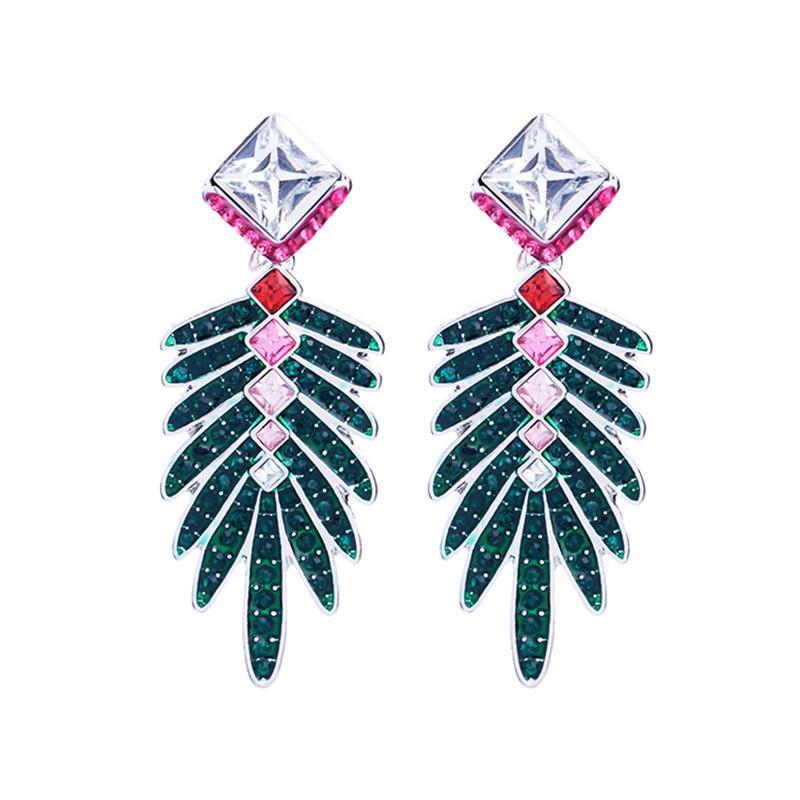 TROPICAL LEAF SUMMER EARRINGS - impaviid