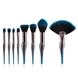 10 & 8 PCS MAKEUP BRUSHES DARK UNICORN BRĪVĪBA - IMPAVIID