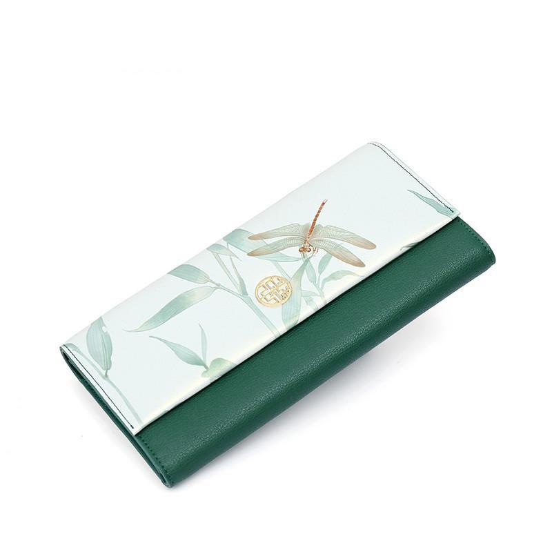 DRAGONFLY WALLET/CLUTCH CRUELTY-FREE