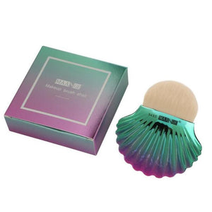 BROSSE DE MAQUILLAGE FONDATION MERMAID SHELL - impaviide