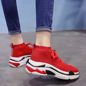 BREATHABLE KNITTED SNEAKERS 2 COLORS CRUELTY-FREE - IMPAVIID