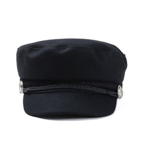 BAKER BOY HAT / UUDISED BOY HAT BLACK - IMPAVIID
