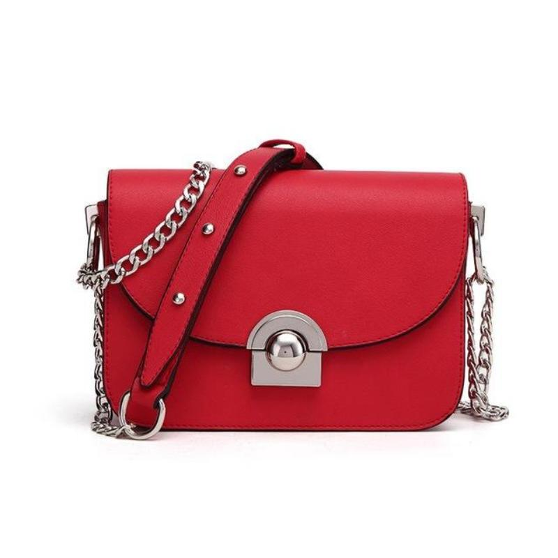 CHAIN BAG 3 COLORS CRUELTY-FREE