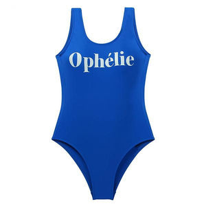 ONE PIECE SPORTY GRAPHIC SWIMSUIT - impaviid