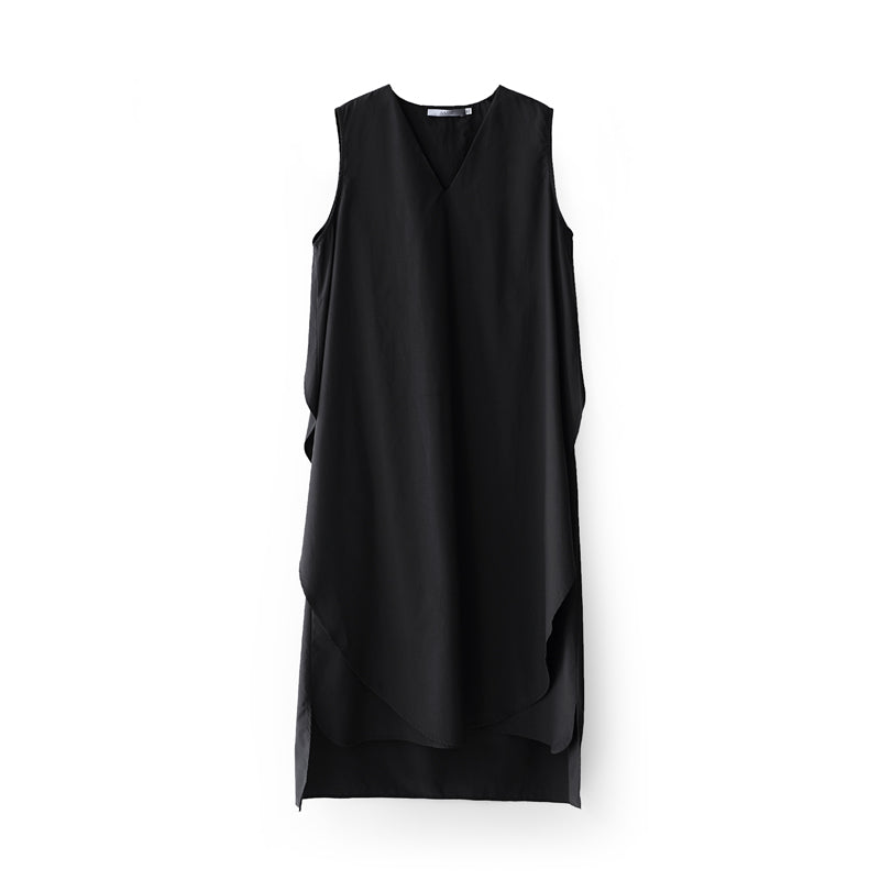 MINIMALISM OVERSIZED MID-CALF DRESS - impaviid