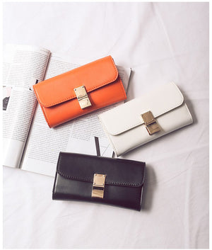 COLORFUL CLUTCH BAG MULTIPLE COLORS CRUELTY-FREE - IMPAVIID