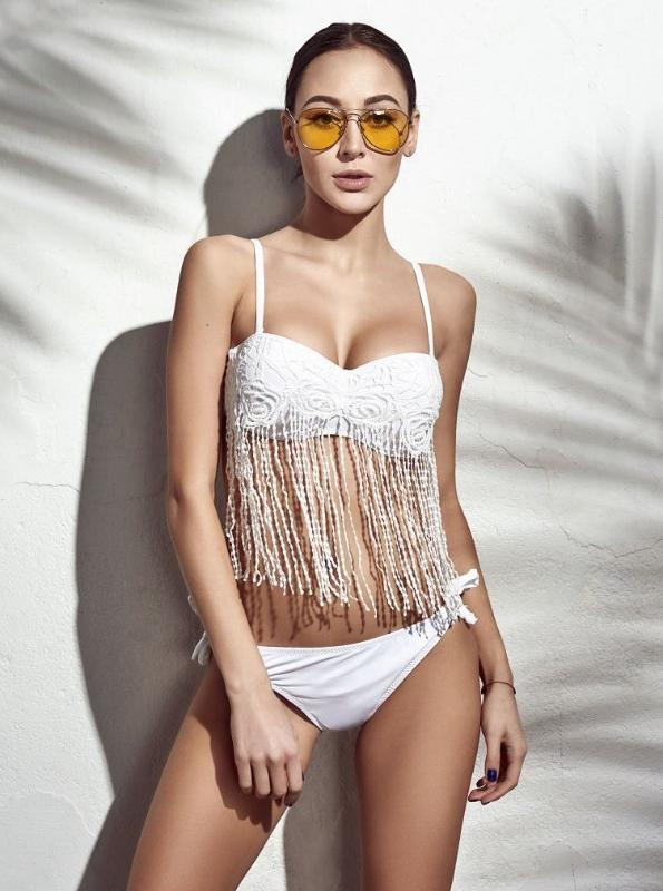 TASSEL BIKINI / 2 PIECE SWIMSUIT