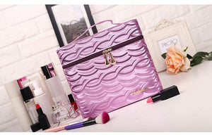 METALLIC COSMETIC BOX 5 COLORS - impaviid