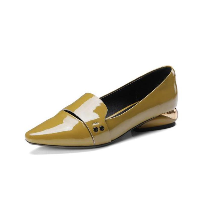 LOW HEEL LOAFERS