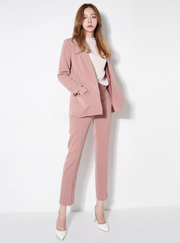 2 PIECE SUIT WITH ANKLE LENGTH PANTS 3 COLORS - IMPAVIID