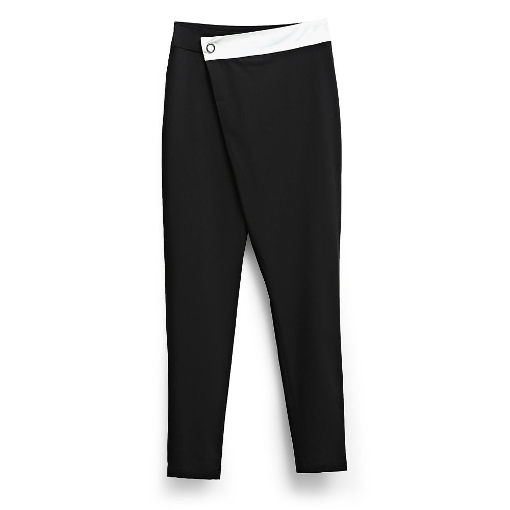 MINIMALISM CHIFFON FORMAL PANTS 3 COLORS