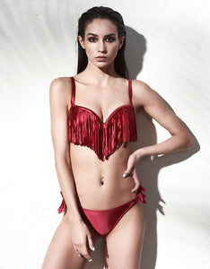 2 PIECE FRINGE SWIMSUIT / BIKINI - ИМПАВИИД