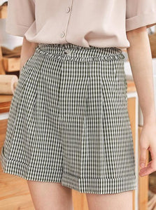 HIGH WAISTED WIDE LEG SHORTS KOREAN DESIGN - impissid
