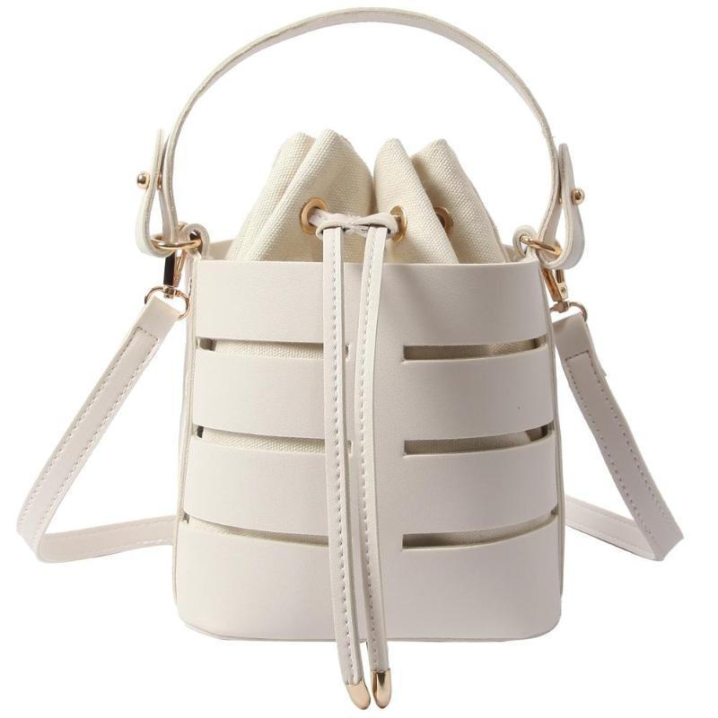 HOLLOWED OUT BUCKET BAG CRUELTY-FREE - impaviid