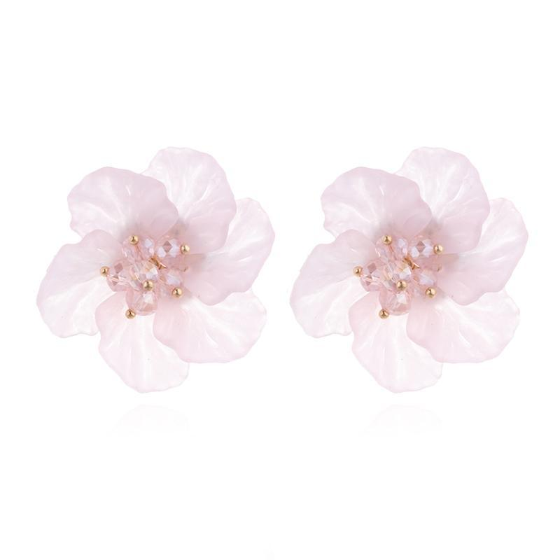 ACRYLIC FLOWERS EARRINGS - IMPAVIID