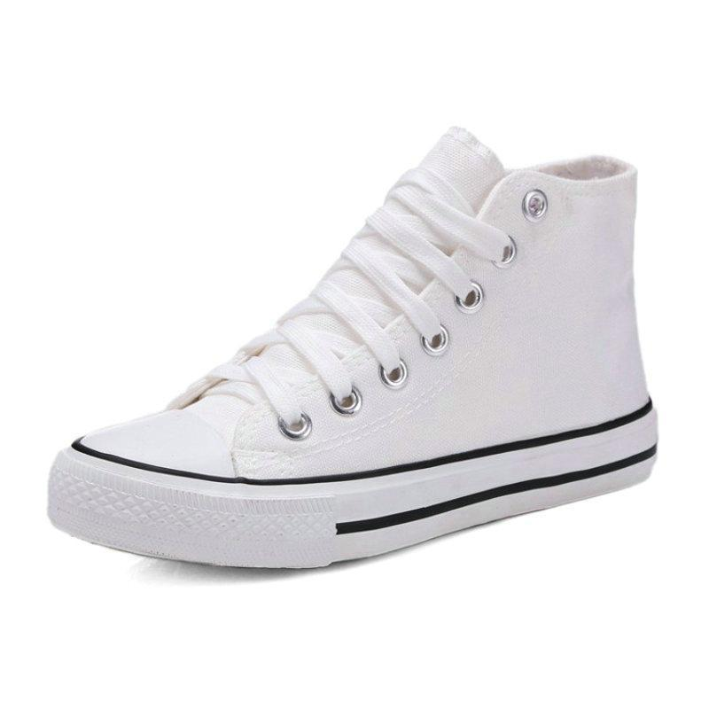 ANKLE CANVAS SNEAKERS CRUELTY-FREE - IMPAVIID