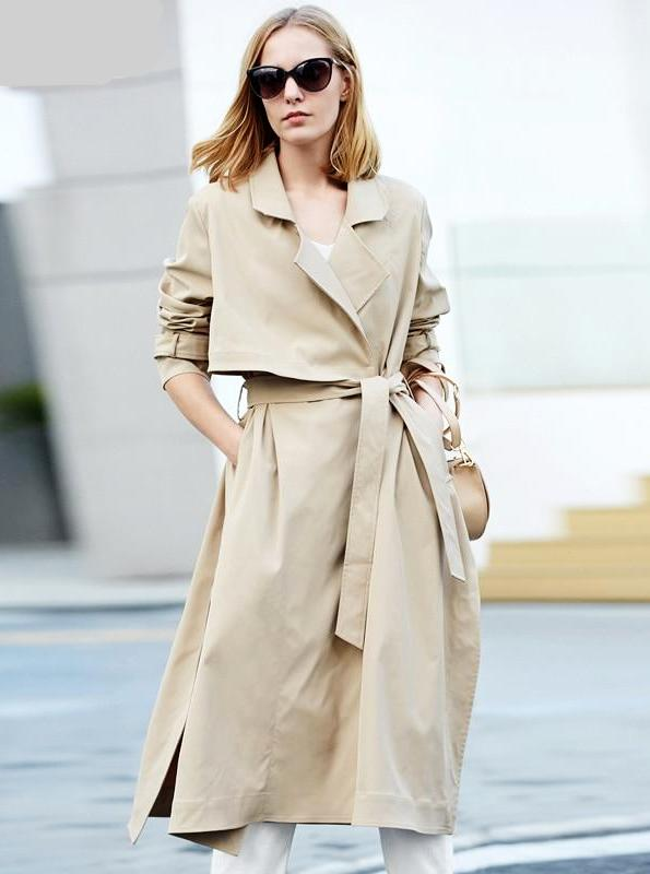 90 STILA UZLABOTA TRENCH COAT - IMPAVIID