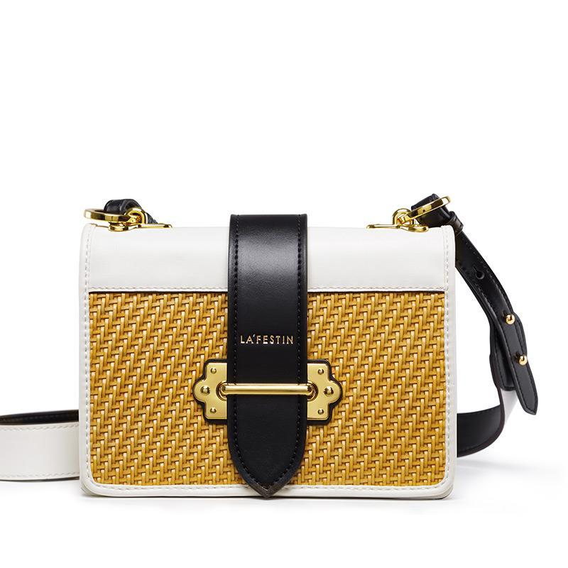 CONTRASTING COLORS SMALL CROSSBODY BAG - IMPAVIID