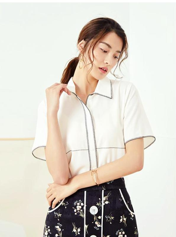 CASUAL EXPOSED STITCHING SHIRT - IMPAVIID