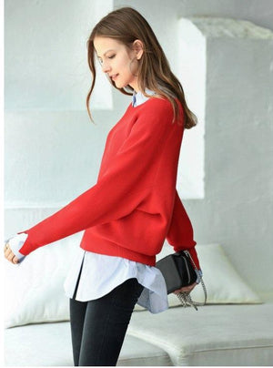 MINIMALISM LOOSE CHIC SWEATER
