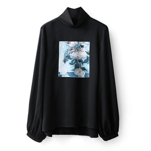 MINIMALISM ART PRINT TURTLENECK